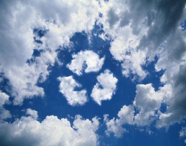 Cahill AboutUs-RecycleLogoinClouds